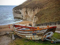 Boat-at-Flamborough-North-Landing-by-Andy-W